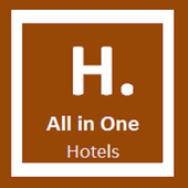 Hotels All in One icon
