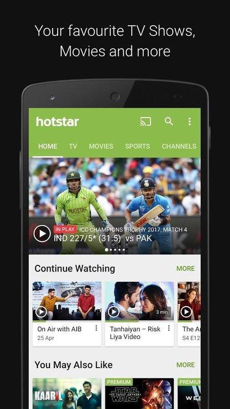 Hotstar for Android - APK Download
