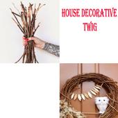 House Decorative Twig icon