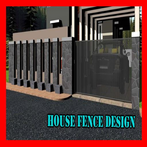 House Fence Design poster