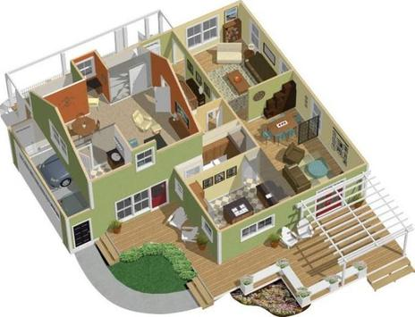 3d house floor plans apk screenshot - 3d House Floor Plans Free