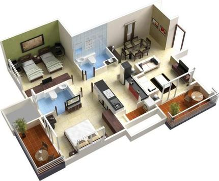 3D House Floor Plans APK Download Free Lifestyle APP for Android – 3D House Floor Plans Free