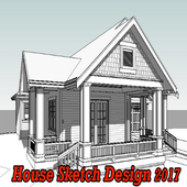 House Sketch Design 2017 icon