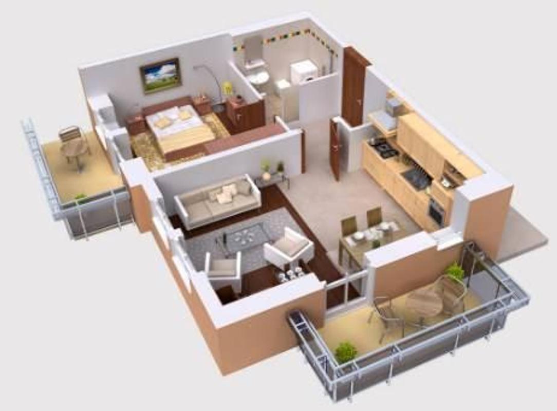 ... Home Design 3D screenshot 4 ...