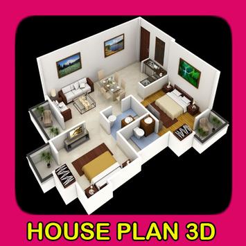 House Plan 3D poster