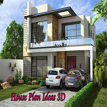 House plan ideas 3D poster