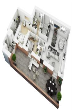 House plan ideas 3D screenshot 1