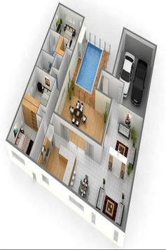 House plan ideas 3D screenshot 2