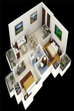 House plan ideas 3D screenshot 3