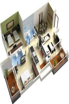 House plan ideas 3D screenshot 4