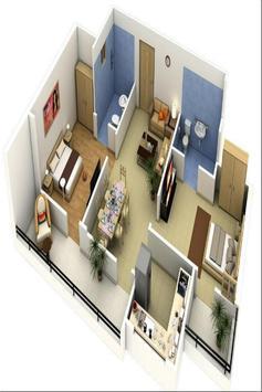 House plan ideas 3D screenshot 5