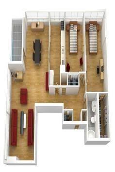 House plan ideas 3D screenshot 6
