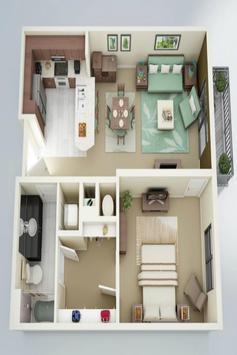 House plan ideas 3D screenshot 8