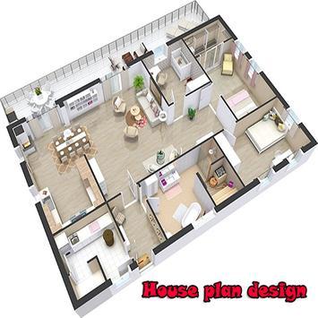 House plan design poster