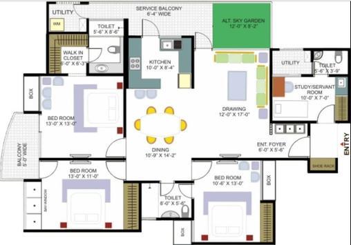 House plan design screenshot 1