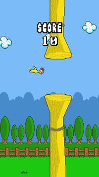 Flappy Rubber Chicken poster