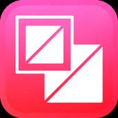 New Magic Camera Grid Squares & Photo Collage icon