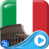 Italy Flag 3d Wallpaper icon
