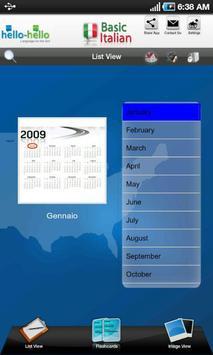 Learn Italian Vocabulary apk screenshot