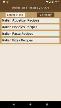 Italian food recipes videos apk download free entertainment app italian food recipes videos apk screenshot forumfinder Choice Image