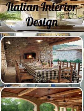 Italian Interior Design poster
