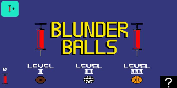 Blunder Balls poster