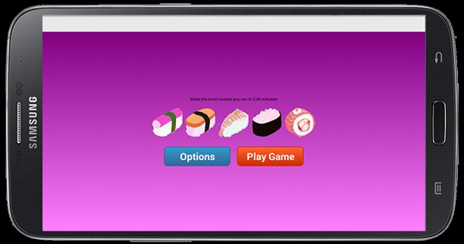 Destroy Sushi apk screenshot