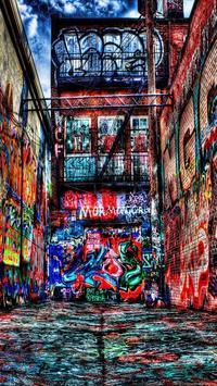 Wallpaper Graffiti HD screenshot 1