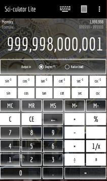 CyberX Scientific Calculator - Fantasy screenshot 1