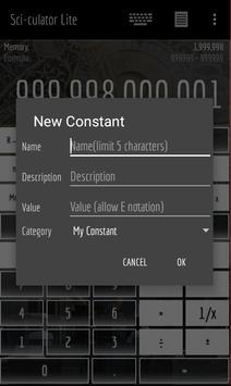 CyberX Scientific Calculator - Fantasy screenshot 2