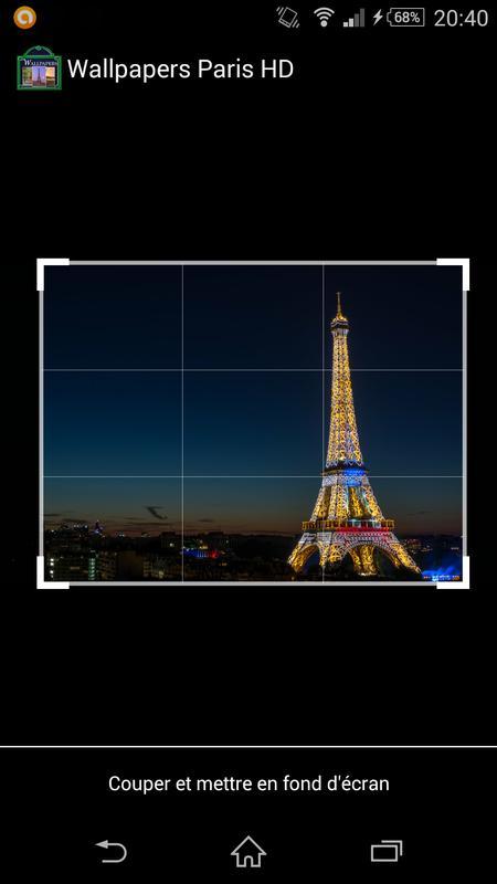 I Love Paris Wallpapers HD Screenshot 1