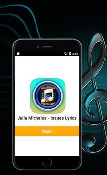 Julia Michaels Issues Lyrics poster