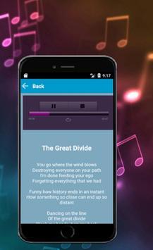 Rebecca Black-The Great Divide Lyrics apk screenshot
