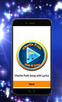 Charlie Puth Song Lyrics poster