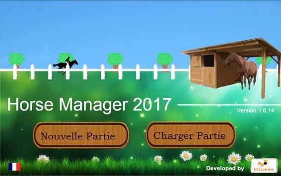 Horse Manager 2017 apk screenshot