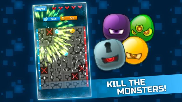 Hacker Attack Puzzle poster
