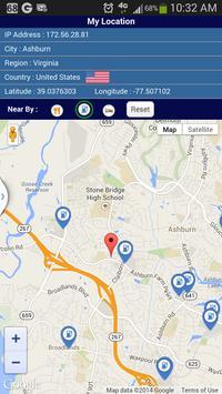 IPLoc - IP and Location apk screenshot