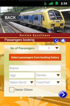 IRCTC Rail Booking Online screenshot 2