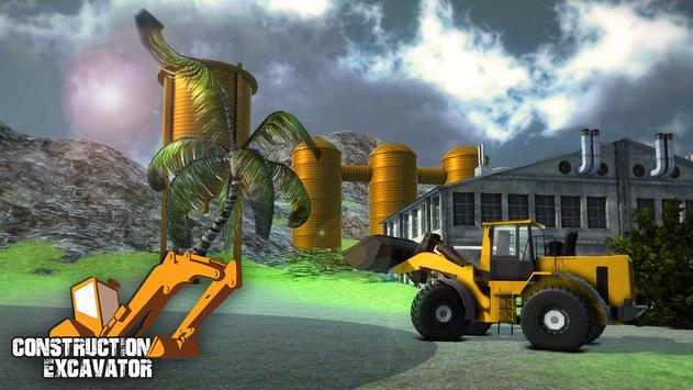 Real Construction Excavator 3D apk screenshot