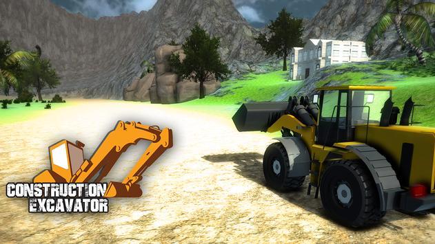 Real Construction Excavator 3D apk screenshot