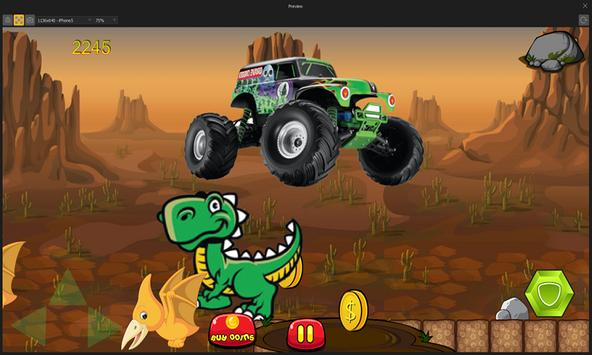 Dinosaurs vs Monster Trucks screenshot 10