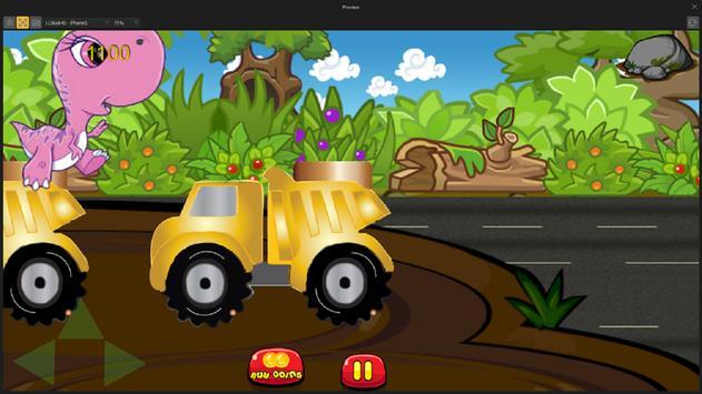 Dinosaurs vs Monster Trucks screenshot 1