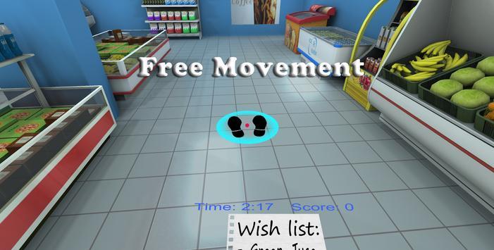 Supermarket VR Cardboard screenshot 2