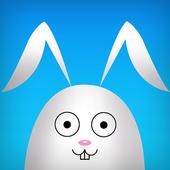 Bunny Meadow White Tile icon