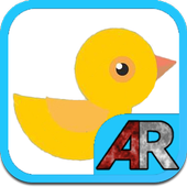 AR Birds(+Cardboard)  for kids icon