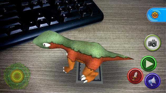 AR Jurassic Dino for kids screenshot 1