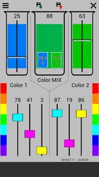 CMYK Mix Color scheme designer apk screenshot