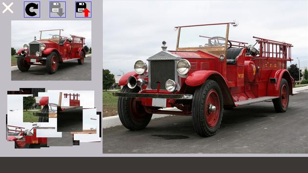 Fire Truck Puzzle poster