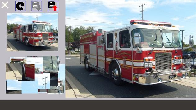 Fire Truck Puzzle screenshot 2
