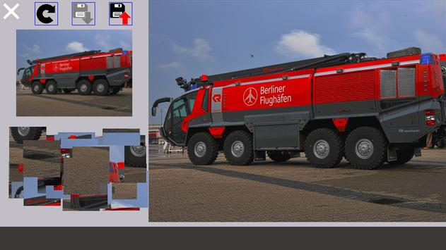 Puzzle Fire Truck screenshot 3